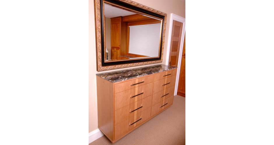 Dresser with Marble Top