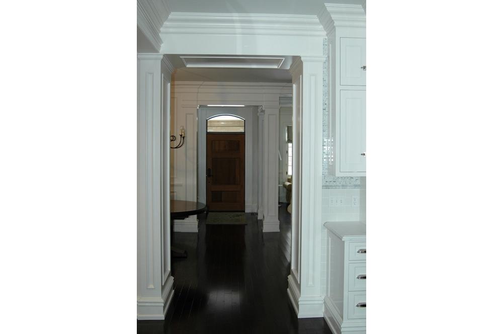 Hallway into Entryway